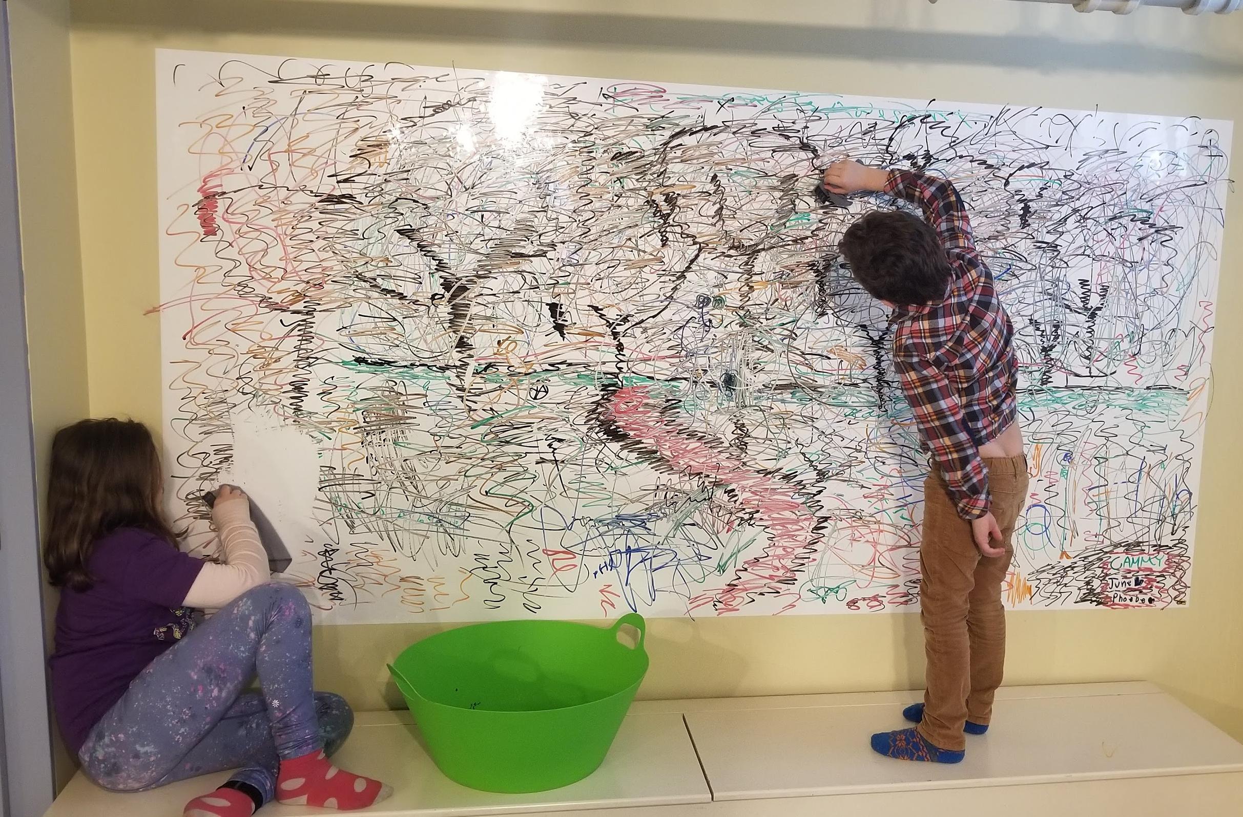 3M white board